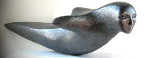 Inuit carving taken from EastGreenland.com.