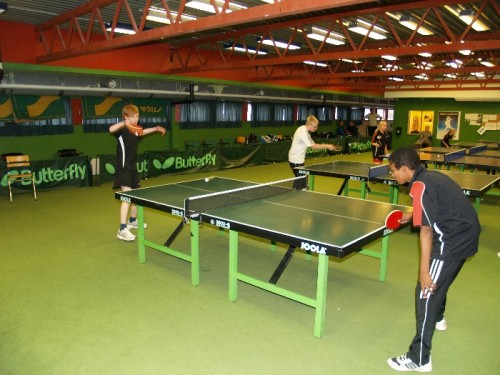 Table Tennis in Tromso, Norway. Photo from club's web-page