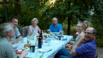 Family gathering for my dad's birthday in my Delaware garden June-6, 2012.