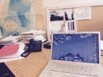 Corner of my office desk