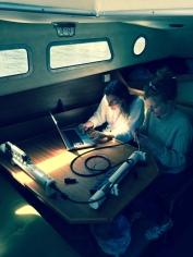 Anna and ocean sensors.